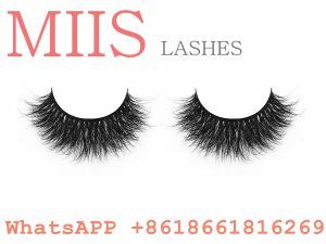 3d mink lashes with eyelash box
