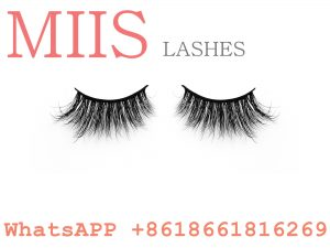 factory price real mink 3D eyelash